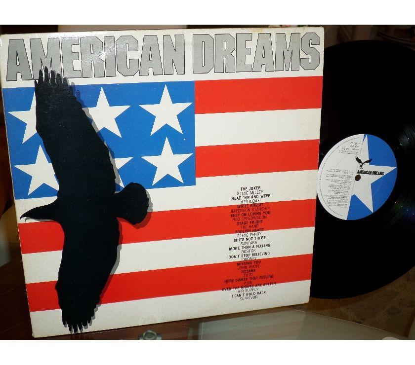 compact disc dvd e videogames Palermo e provincia Palermo - Foto di Vivastreet.it AMERICAN DREAMS Classic Rock - 2 x LP 33 giri 1985 UK
