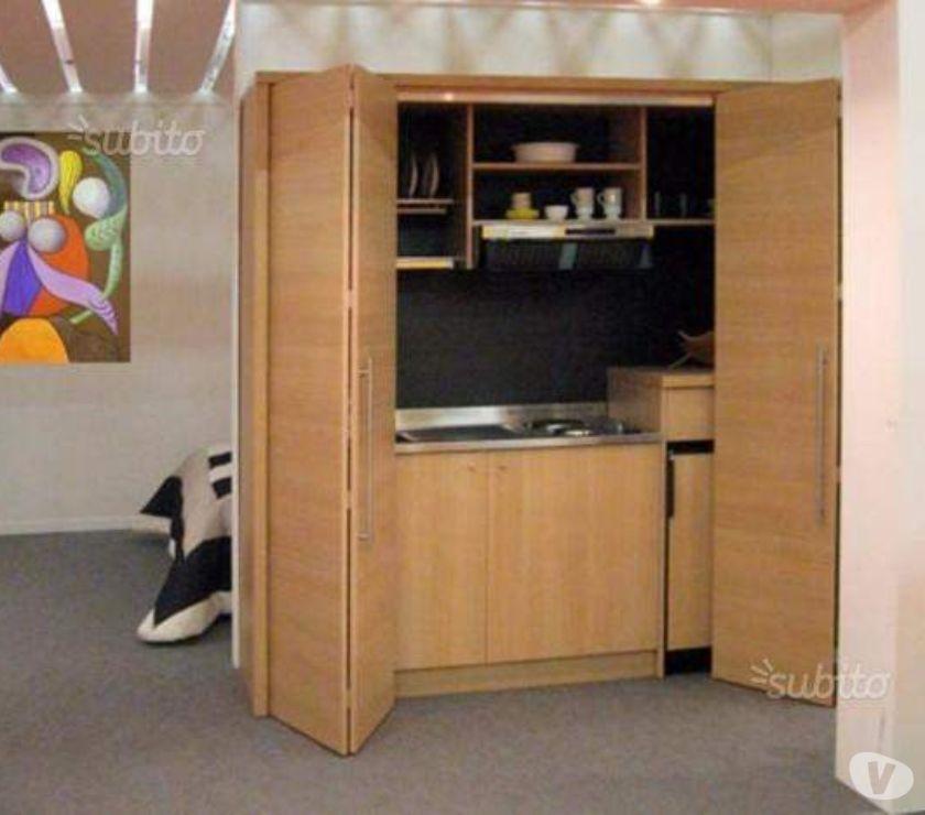Arredo bed breakfast a roma-Cucina monoblocco legno-cucine ...