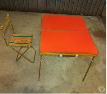 Foto di Vivastreet.it Tavolo picnic pic nic campeggio anni70 richiudibile valigia
