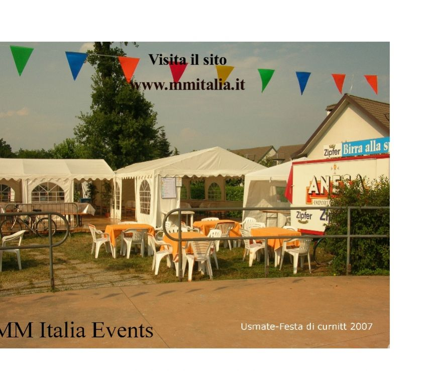 Foto di Vivastreet.it Tendoni per Eventi 5 x 8 pvc Ignifugo € 530,00 MM Italia