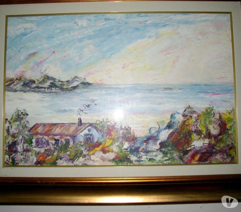 oggetti d'antiquariato e modernariato Padova e provincia Saonara - Foto di Vivastreet.it mario caragliu - olio su tela - casa sul mare