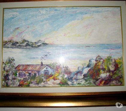 Foto di Vivastreet.it mario caragliu - olio su tela - casa sul mare