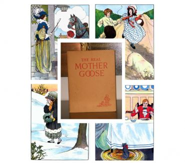 Foto di Vivastreet.it THE REAL MOTHER GOOSE, illustrated by BLANCHE FISHER WRIGHT.