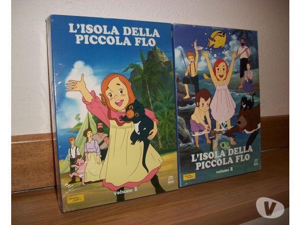 Flo la piccola Robinson in 2 box originali Bologna