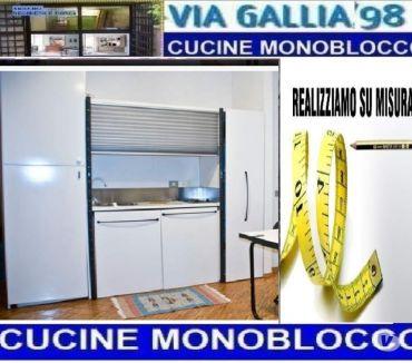 Foto di Vivastreet.it Arredo bed and breakfast a roma-Cucine monoblocco 225 bianco