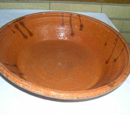Foto di Vivastreet.it Antico piatto in terracotta e portafrutta in terracotta