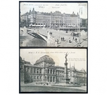 Foto di Vivastreet.it Austria_Vienna Wien 2 cartoline bn FP VG