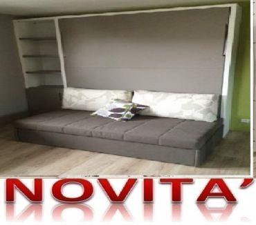 Foto di Vivastreet.it Letto a scomparsa divano domino cacao-LETTI A ROMA