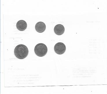 Foto di Vivastreet.it 1939 1942 n 6 monete Regno sottodescritte