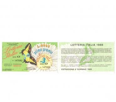 Foto di Vivastreet.it 20 biglietti usati da collezione lotteria Italia