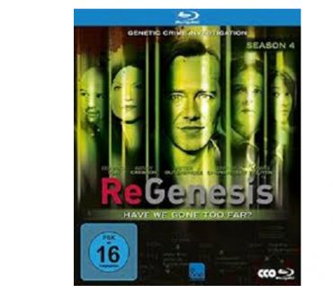 Foto di Vivastreet.it Dvd originali serie tv completa REGENESIS 4 stagioni