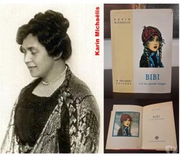 Foto di Vivastreet.it Bibi e il suo grande viaggio, Karin Michaelis,Vallardi 1968.