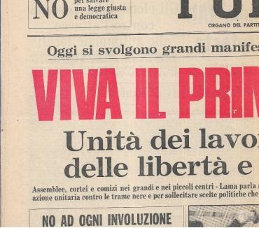 Foto di Vivastreet.it 19551978 N 4 FOTOCOPIE PRIME PAGINE GIORNALI SOTTODESCRITTE