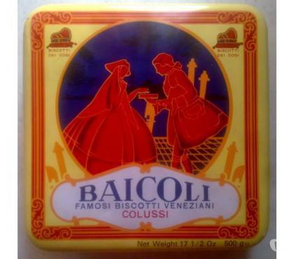 Foto di Vivastreet.it scatola latta quadrata della baicoli famosi biscotti venezia