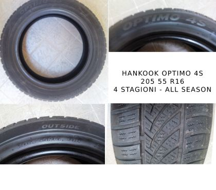 Foto di Vivastreet.it Hankook Optimo 4S 205 55R 16 91H 4 STAGIONI