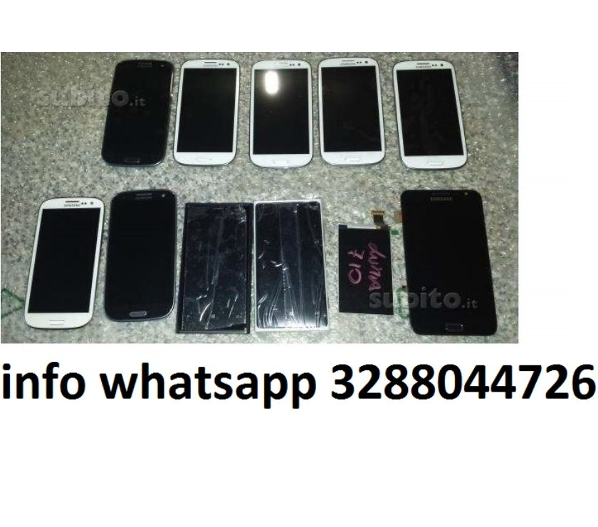 Foto di Vivastreet.it Lcd Display s3 s4 s5 s6 s7 j3 j5 j7 a3 a5 a7 a8 note 3 4 5 6