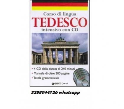 Foto di Vivastreet.it Corso di lingua tedesca con cd 4 cd della durata di 240 min