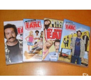 Foto di Vivastreet.it Dvd originali serie tv completa MY NAME IS EARL 4 stagioni