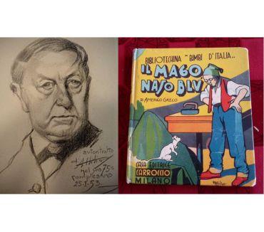 Foto di Vivastreet.it IL MAGO BASO BLU', AMERICO GRECO, CASA ED. CARROCCIO 1934.