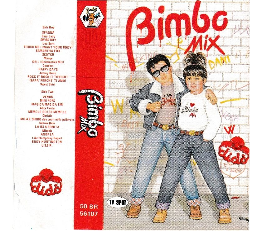 compact disc dvd e videogames Palermo e provincia Palermo - Foto di Vivastreet.it BIMBO MIX - Compilation Mixage - Tape, Cassette, MC, K7 1986