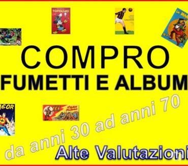 Foto di Vivastreet.it C.0.M.P.R.0 Fumetti ed album calciatori di pregio