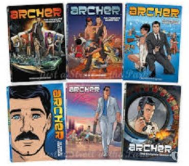 Foto di Vivastreet.it Dvd originali serie tv completa ARCHER 7 stagioni