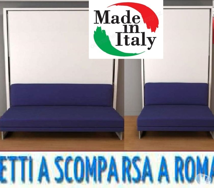Foto di Vivastreet.it Letto a scomparsa matrimoniale magico LILLA-LETTI A ROMA