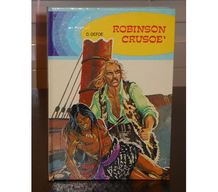 Foto di Vivastreet.it ROBINSON CRUSOE', DANIEL DEFOE, ill. A. D'Agostini, 1972.