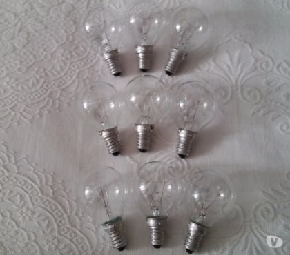 Foto di Vivastreet.it STOCK LOTTO SET 9 lampadine incandescenza bulbo sfera E14 25
