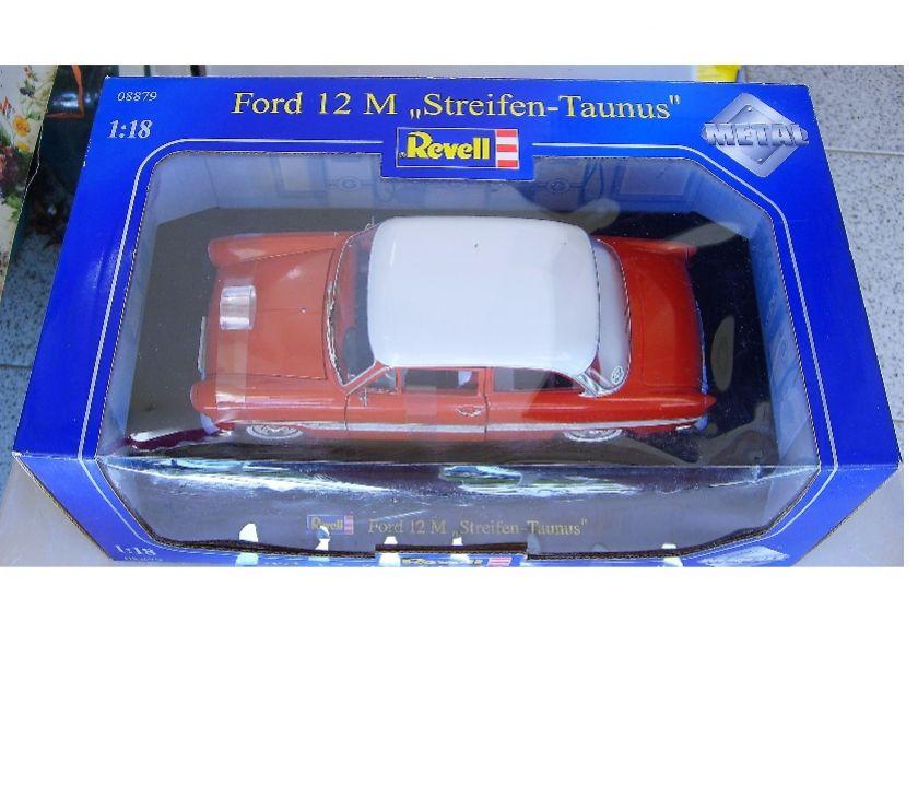 "Foto di Vivastreet.it 1:18 Revell Ford 12 M ""Streifen-Taunus"" Nuova"