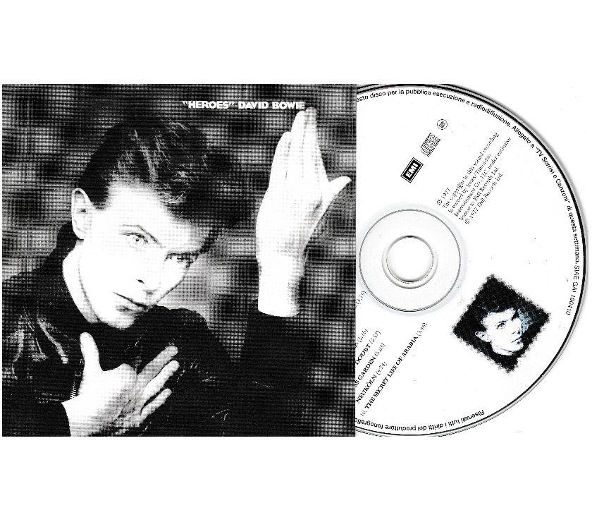 compact disc dvd e videogames Palermo e provincia Palermo - Foto di Vivastreet.it DAVID BOWIE - Heroes - 1977 CD Album EMI Italy