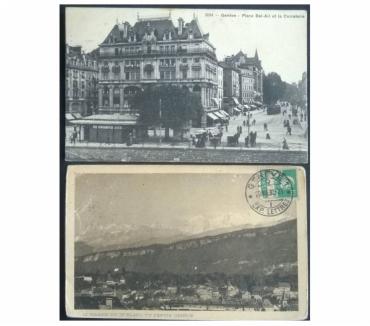 Foto di Vivastreet.it Switzerland_Geneve 2 cartoline bn FP VG GV#01