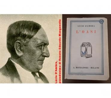 """Foto di Vivastreet.it L'OASI, LUCIO D'AMBRA, A. Mondadori 1932, """"I Libri Azzurri"""