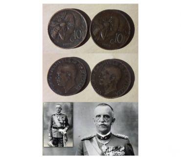 "Foto di Vivastreet.it Vittorio Emanuele III° (1900-1943) 10 centesimi 1929 "" 2 pz."