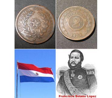 Foto di Vivastreet.it Paraguay 2 centesimos, 1870.