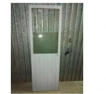 Foto di Vivastreet.it Portone porta infisso in legno da interni esterni con vetro