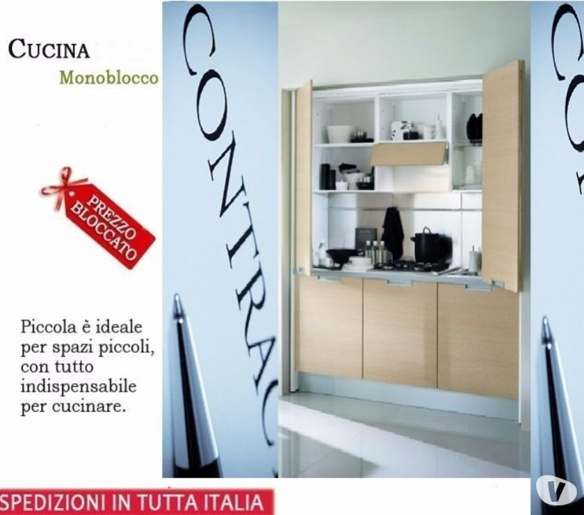 Arredo bed and breakfast a roma-Cucina monoblocco Sky 185a ...