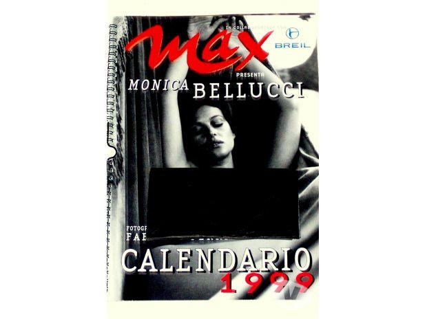 Bellucci Calendario.Calendario Max 1999 Monica Bellucci Correggio