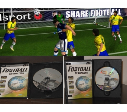 Foto di Vivastreet.it FOOTBALL GENERATION, PC CD ROM, 2004.