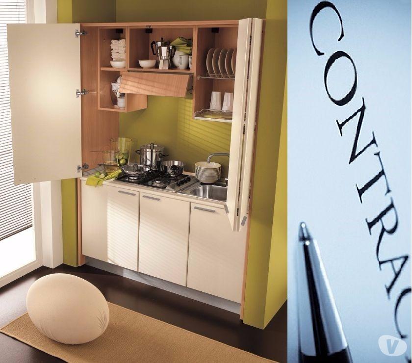 Cucina monoblocco Skyl larghezza155CM- ARREDO RESIDENCE ROMA in ...