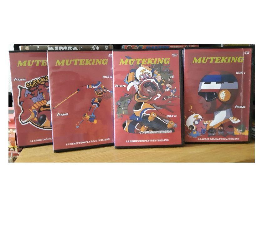 compact disc dvd e videogames Piacenza e provincia Piacenza - Foto di Vivastreet.it Muteking serie animata completa in 14 dvd