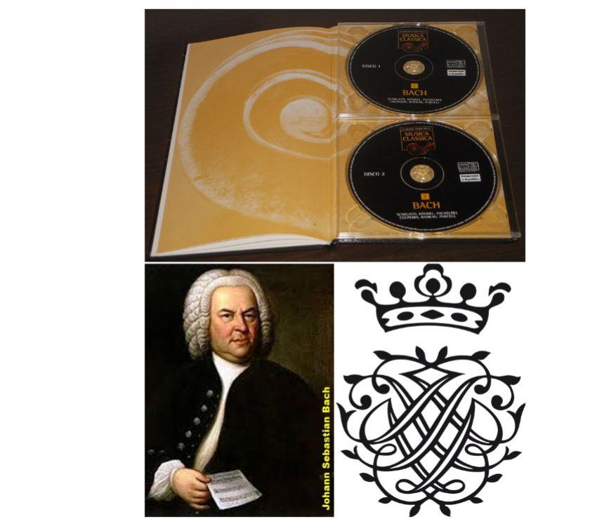 Foto di Vivastreet.it LA GRANDE STORIA DELLA MUSICA, MUSICA CLASSICA, 1 BACH, 2 CD