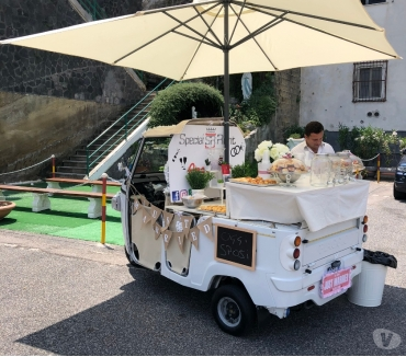 Foto di Vivastreet.it Ape Ritivo Buffet sposi Ape Car Special Rent