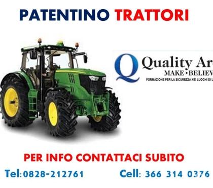 Foto di Vivastreet.it Patentino Trattori Agricoli e Forestali ( in TUTTA ITALIA )