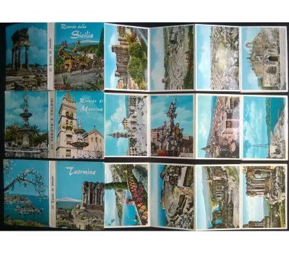 Foto di Vivastreet.it Sicilia - lotto di 7 libretti 136 cartoline