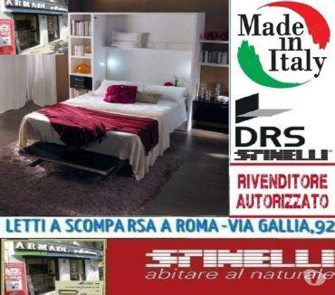 Foto di Vivastreet.it Letto a scomparsa matrimoniale pratico-LETTI A ROMA