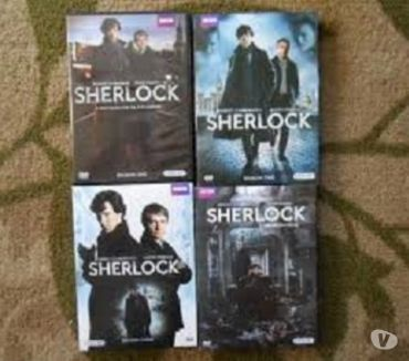 Foto di Vivastreet.it Dvd originali serie tv completa SHERLOCK 4 stagioni
