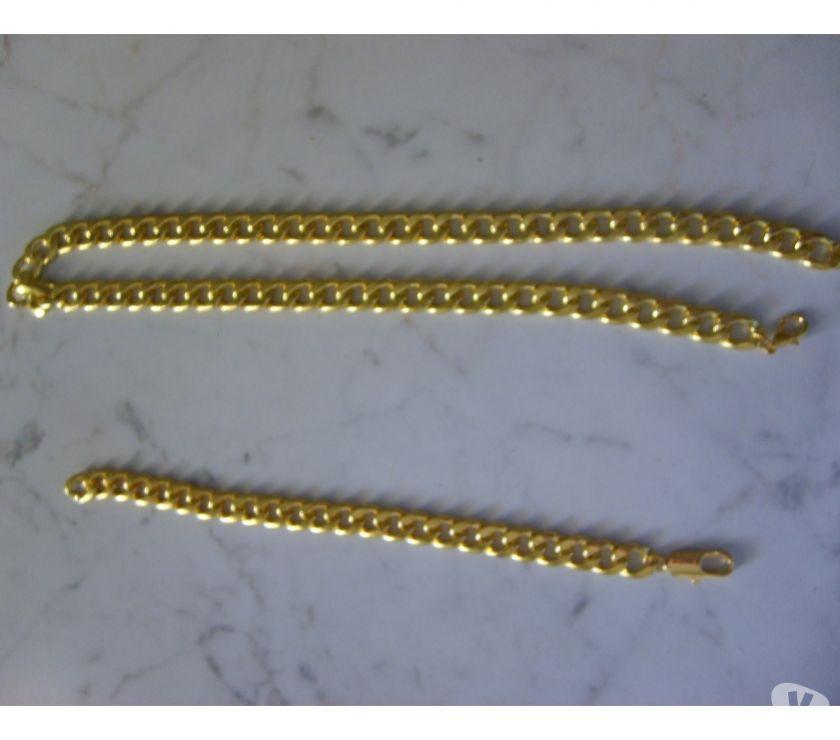 Foto di Vivastreet.it Bracciale e Collana 18K placato oro Uomo