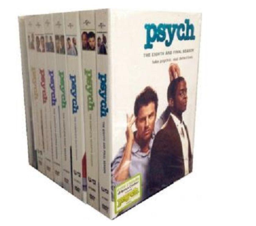 Foto di Vivastreet.it Dvd originali serie tv PSYCH 8 stagioni