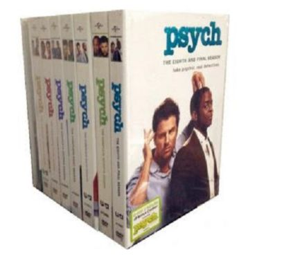 Foto di Vivastreet.it Dvd originali serie tv PSYCH 8 stagioni
